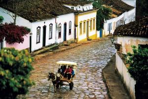 Tiradentes e suas ruas de pedra